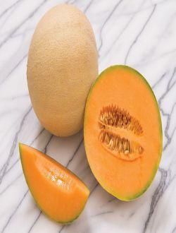 Kantalupe yemişi (Cantaloupe melon)
