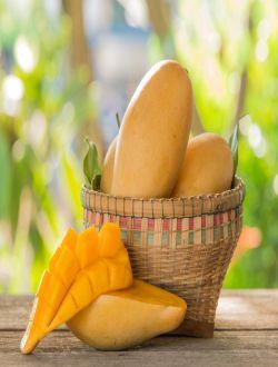 İce cream mango (dondurma dadlı manqo) (Nam Dok Mai)